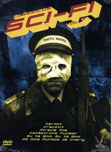 dvd classicos sci-fi volume 7 com cards - opc bonellihq q20
