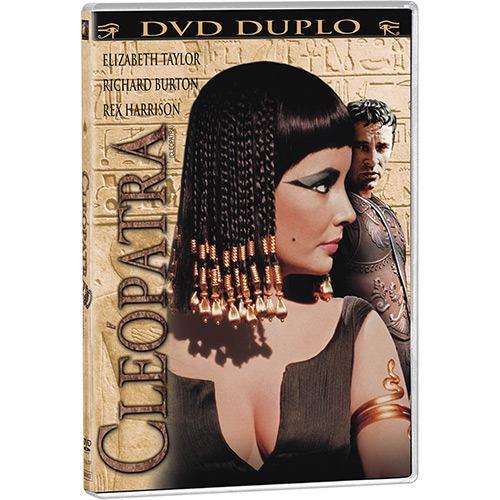 dvd - cleópatra (duplo) - original - lacrado!