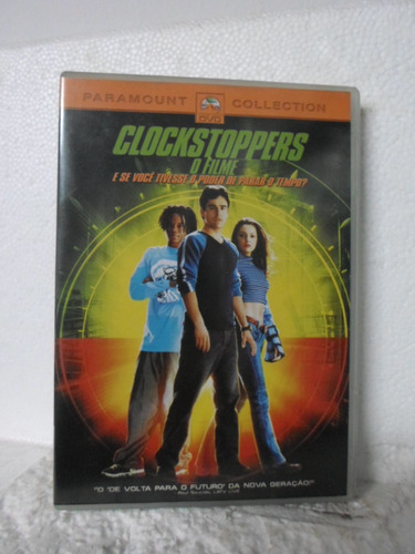 dvd clockstoppers - o filme - original