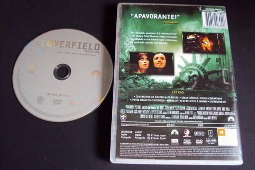dvd cloverfild  monstro