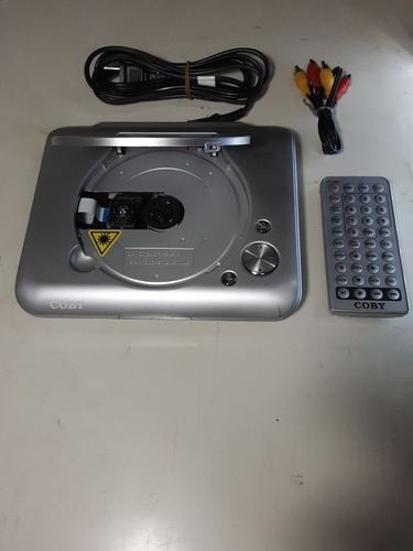 dvd coby con control remoto