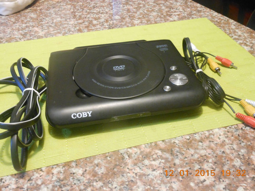 dvd coby portable superliviano