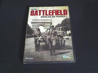 dvd col/ battlefild batalha da frança -  (original) lacrado