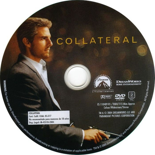 dvd colateral collateral tom cruise jamie foxx edic 2 discos