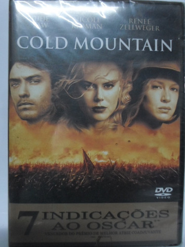 dvd cold mountain - original