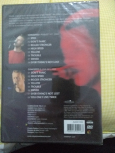 dvd coldplay the early years lacrado