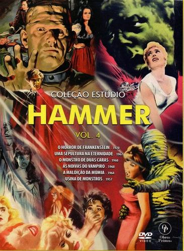 dvd colecao estudio hammer 4 c/cards - opc - bonellihq o20