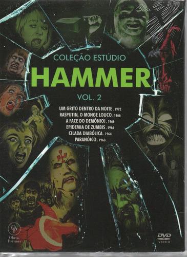 dvd colecao estudio hammer vol 2 c/cards opc - bonellihq l19