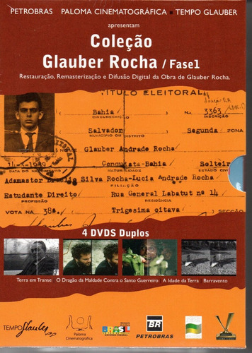 dvd colecao glauber rocha - fase 1 - bonellihq f19