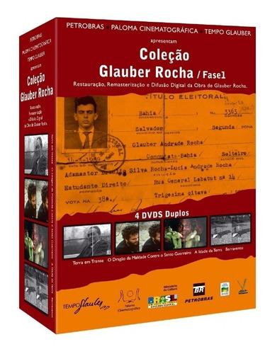 dvd colecao glauber rocha - fase 1 - bonellihq j19