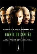 dvd colecao jornada nas estrelas diario do capitao - 5dvds