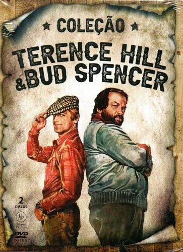 dvd colecao terence hill & bud spencer - opc - bonellihq q20