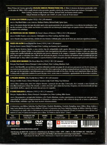 dvd coleção amicus productions vol 2 - opc - bonellihq l19