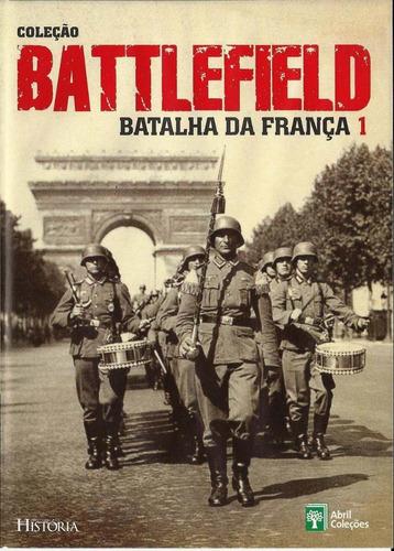dvd coleção battlefield: batalha da frança. dvd 1