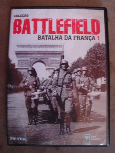 dvd coleção battlefield vol 1 batalha da frança