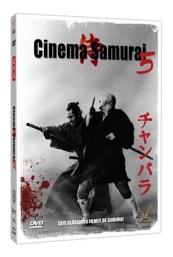 dvd coleção cinema samurai volumes 5 6 e 7