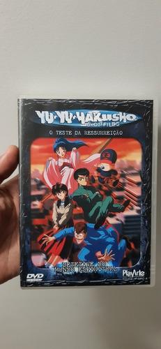 dvd coleção completa yu yu hakusho 30 dvds originais!