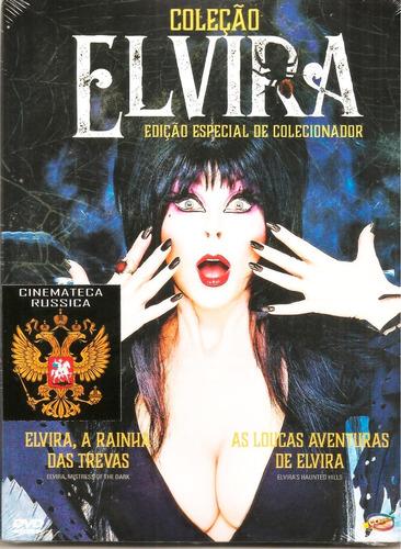 dvd coleção elvira estojo dois filmes edição especial 2001+