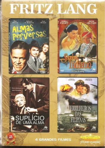 dvd coleção fritz lang, box 4 filmes sepulcro indiano..etc +