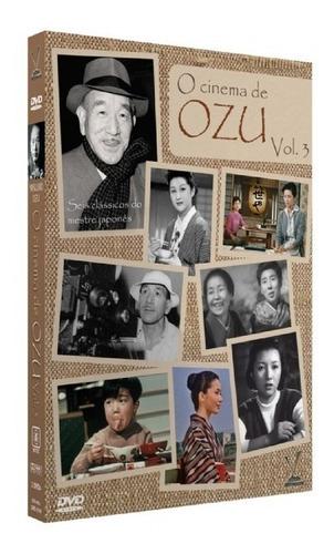 dvd coleção o cinema de ozu vol 1 2 e 3 lacrados - 17 filmes