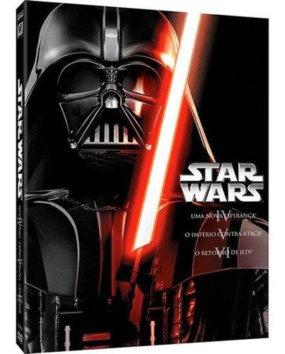 dvd coleção star wars - a trilogia original - 3 discos