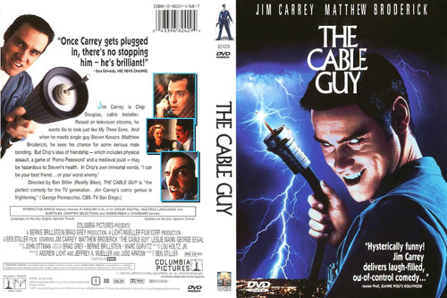 dvd comedia clasica jim carrey es dr. cable guy tampico