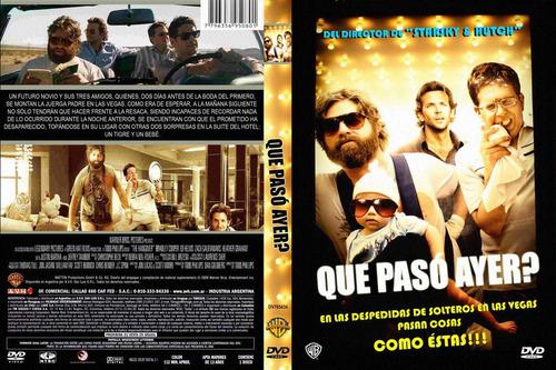 dvd comedia que paso ayer parte 1 the hangover tampico
