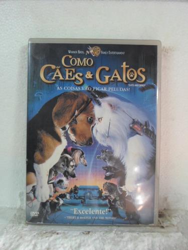 dvd como caes e gatos - original