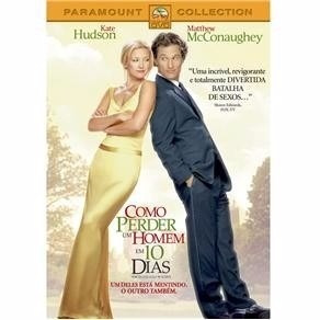 dvd como perder um homem em 10 dias - kate hudson - original