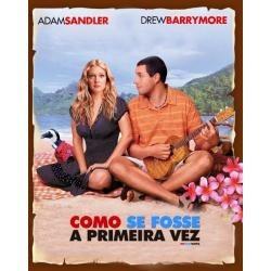 dvd como se fosse a primeira vez (2005)  adam sandler