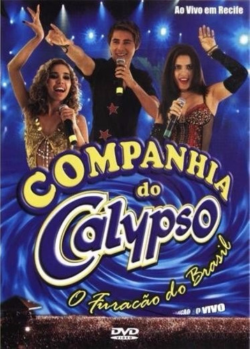 dvd companhia do calypso recife ao vivo vol.1 original