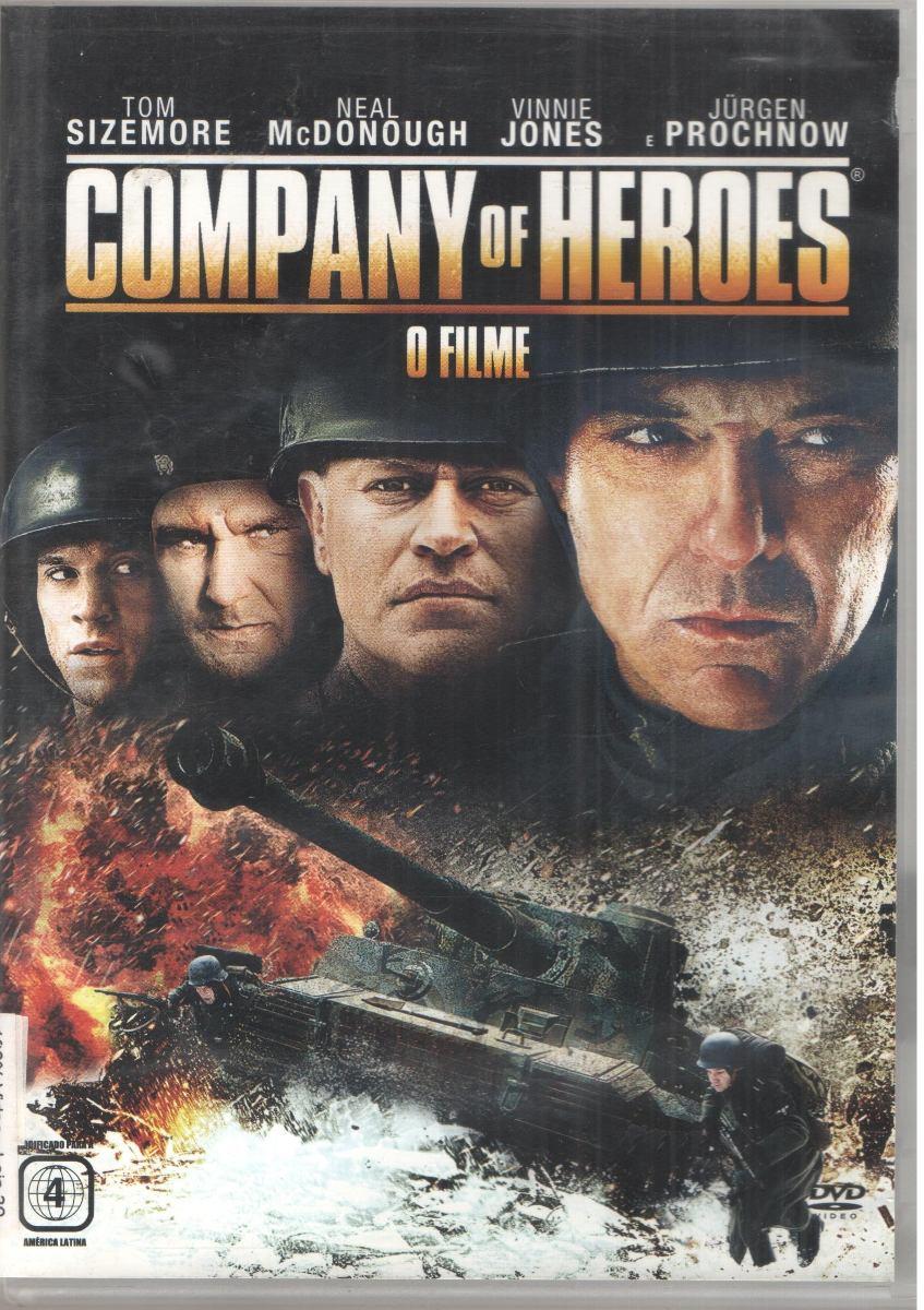 Dvd Company Of Heroes Original Dublado Usado R 12 00 Em Mercado Livre