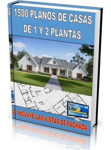 dvd con 1500 planos de casas
