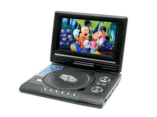dvd con tv portátil 9.8 , compatible con dvd/cd-mp3-mp4