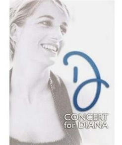 dvd - concert for diana