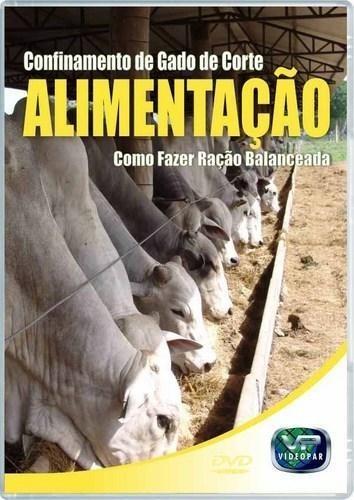 dvd confinamento - alimentação (gado de corte)