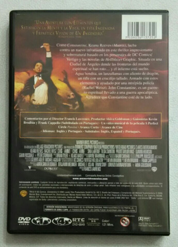 dvd constantine rachel weisz