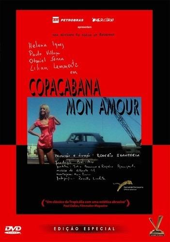 dvd copacabana mon amour de rogerio sganerla c helena ignez+