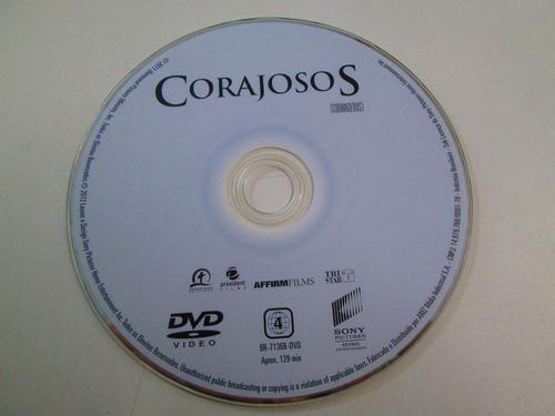 dvd corajosos - fotos reais do produto