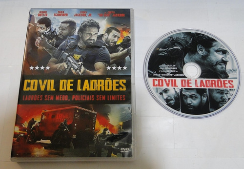 dvd - covil de ladrões - dublado e legendado