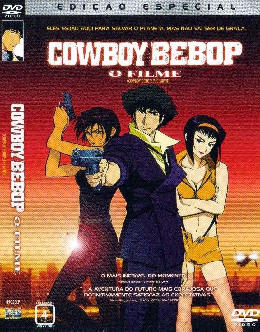 dvd cowboy bebop o filme original semi novo r 3900