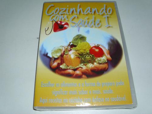dvd cozinhando com saúde 1 ! original !
