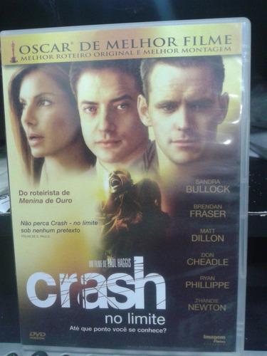 dvd - crash - no limite - paul haggis (dublado)
