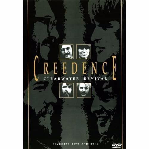 dvd creedence clearwater revival -live and rare