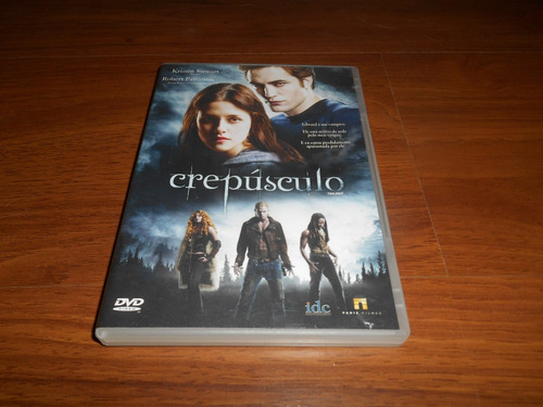 dvd - crepúsculo