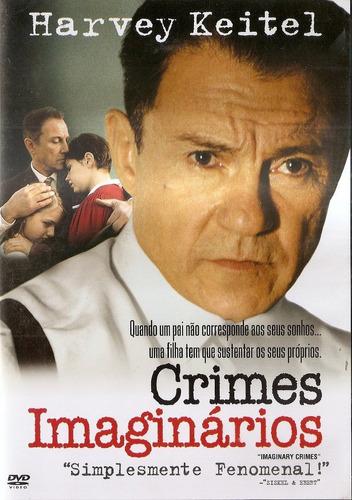 dvd crimes imaginários / harvey keitel - novo lacrado raro