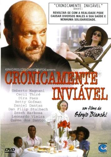 Dvd - Cronicamente Inviável - ( De Sergio Bianchi ) - R$ 81,60 em Mercado  Livre