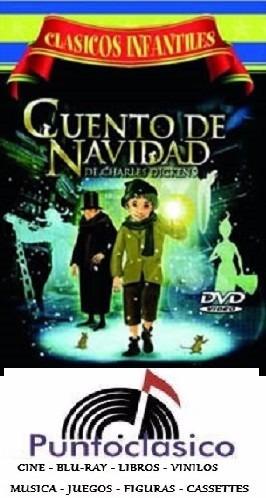 dvd - cuento de navidad - charles dickens