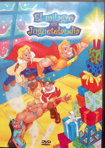 dvd cuento infantil dib.animados el milagro en juguetelandia