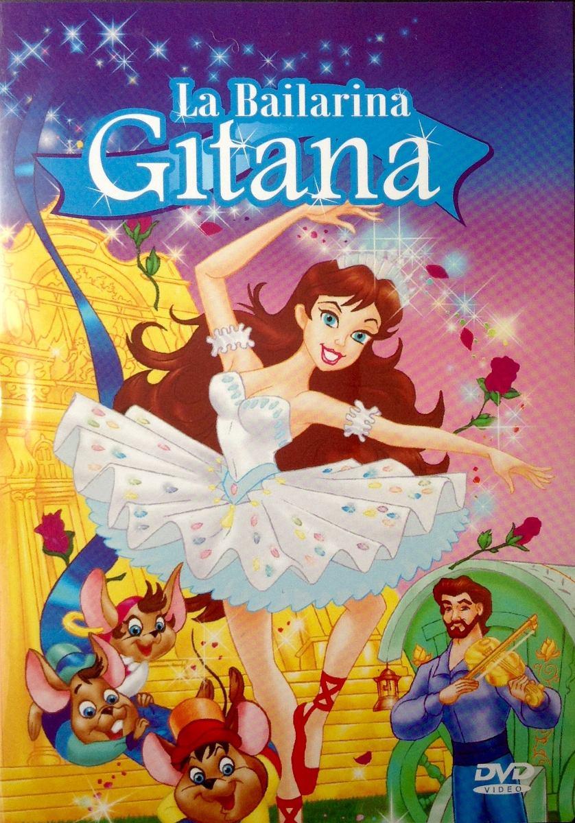 Dvd Cuento Infantil Dibujo Animados La Bailarina Gitana   15000